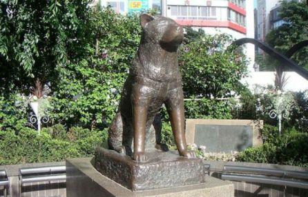 hachi-statue