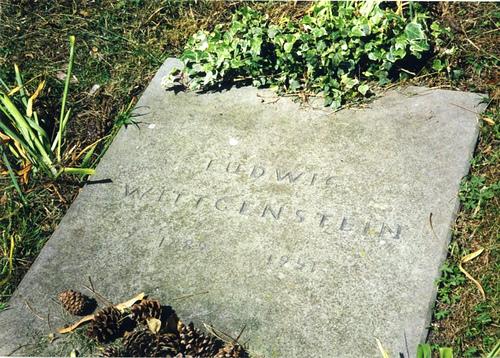 Ο τάφος του Wittgenstein στο Cambridge