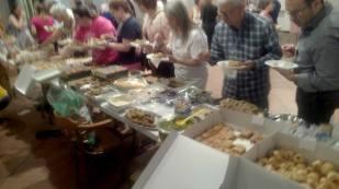 Ο μπουφές, εντυπωσιακός και τις τρεις μέρες - Food buffet, all three days full!