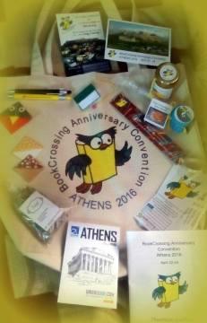 Το περιεχόμενο της τσάντας του σύνεδρου - Convention bag