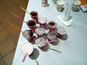 Βυσσινάδες σπιτικές - Home made sour cherry juice