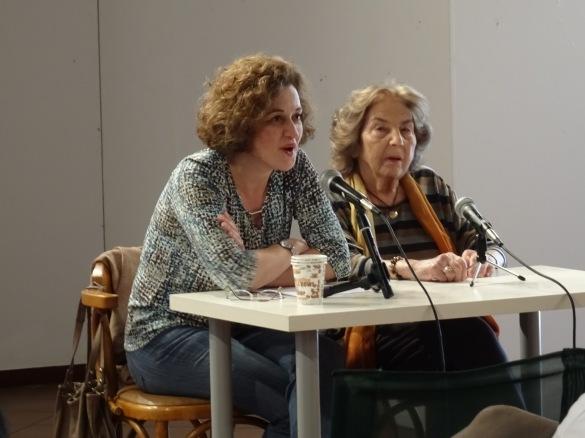 Η αγαπημένη Άλκη Ζέη και η Αγγελική Βουλουμάνου - Alki Zei and Angelica Voulamanou