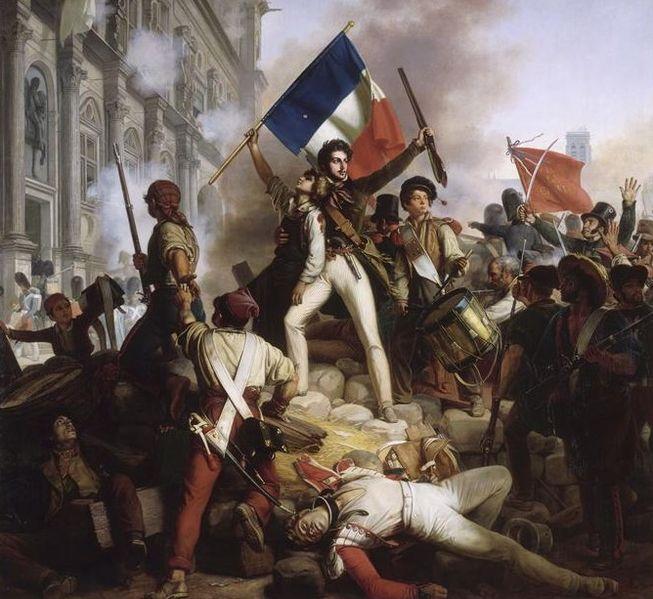 653px-Révolution_de_1830_-_Combat_devant_l'hôtel_de_ville_-_28.07.1830