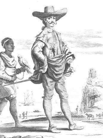 Αυθεντικός Ηidalgo στις ισπανικές αποικίες τον 16ο αιώνα