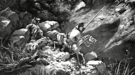 Με τον Σάντσο του, διασχίζοντας τα βουνά
