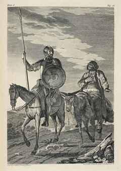 Σχέδιο από την έκδοση Ibarra, το 1780