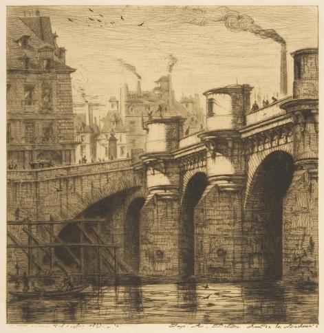 Charles_Meryon,_Pont-Neuf,_Paris,_1853_n3