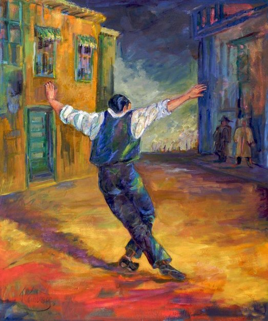 Greek Dancer is a painting by Jean Groberg which was uploaded on July 10th, 2011