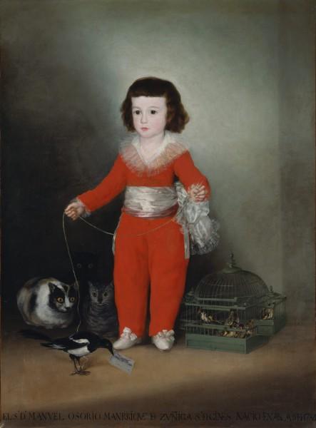 Εξόχως συμβολικό : Manuel Osorio Manrique de Zuñiga (1784–1792), 1787, ΜΕΤ Μουσείο.