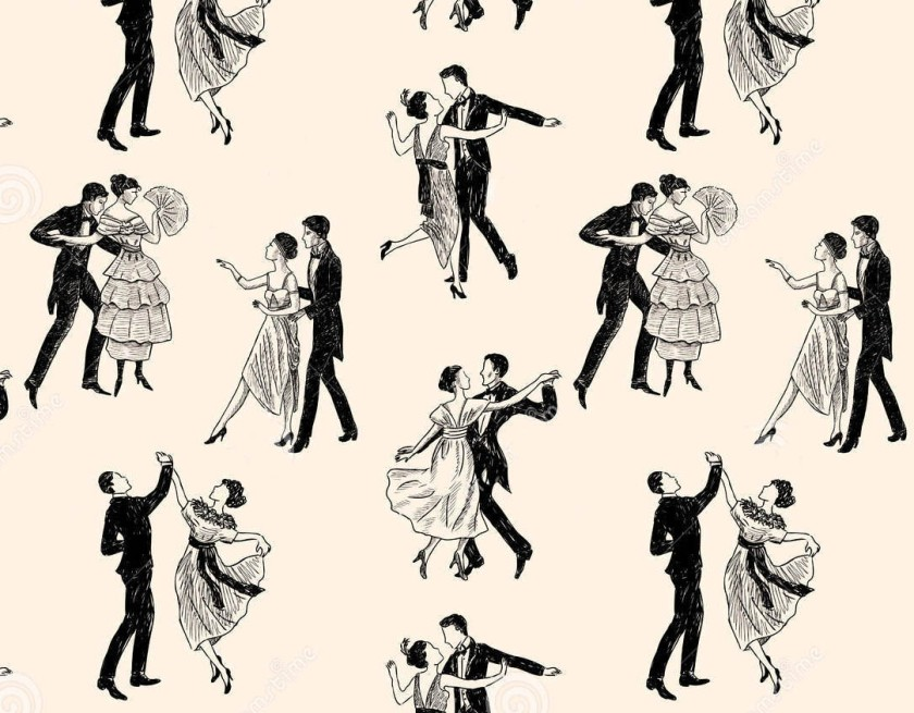 pattern-vintage-dancing-couples-vector-drawing-pairs-40242903