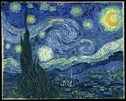Vincent van Gogh The Starry Night Date 1889