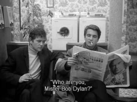 Στο «Αρσενικό-Θηλυκό» του Jean-Luc Goddard, 1966.