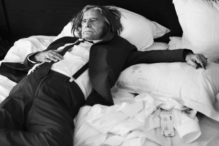 Στις 19 Μαΐου 2016, στο δωμάτιό του στο ξενοδοχείο του, συνέντευξη για τη Le Monde.