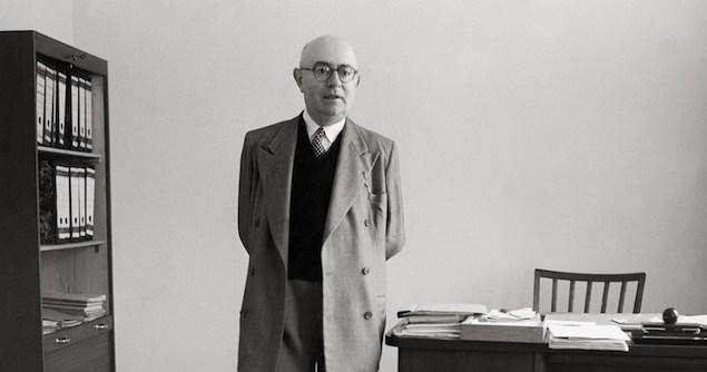 Portrait Theodor W. Adorno