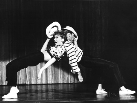 Bob Fosse. Performing Damn Yankees! With his second wife Gwen Verdon