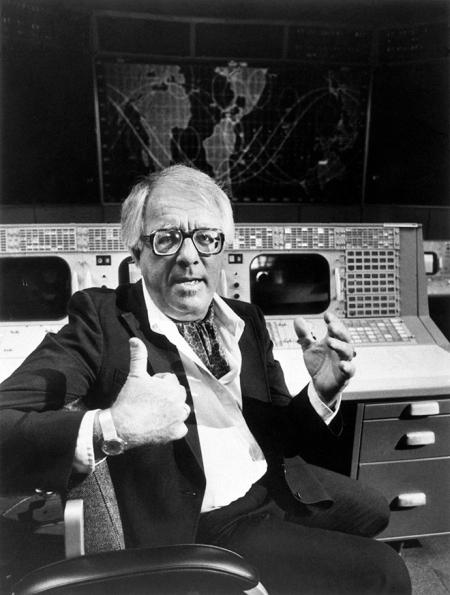 Ο Bradbury, κάπου στη NASA.