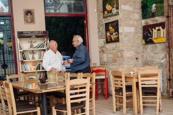 Θέμης Γιώτας, Σάκης Κουρουζίδης | Photo: Δημήτρης Χωριανόπουλος / www.chiaroscuro.gr
