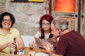 Μαργαρίτα Ζαχαριάδου, Έρη Αγρίου, Mark Roth | Photo: Δημήτρης Χωριανόπουλος / www.chiaroscuro.gr