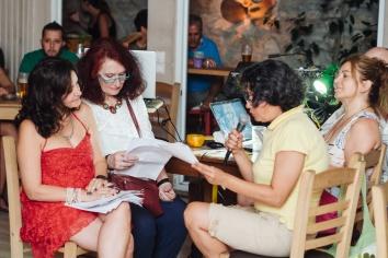 Ελένη Κεχαγιόγλου, Ρούλα Καλαρά, Μαργαρίτα Ζαχαριάδου, Εύη Τσακνιά   Photo: Δημήτρης Χωριανόπουλος / www.chiaroscuro.gr