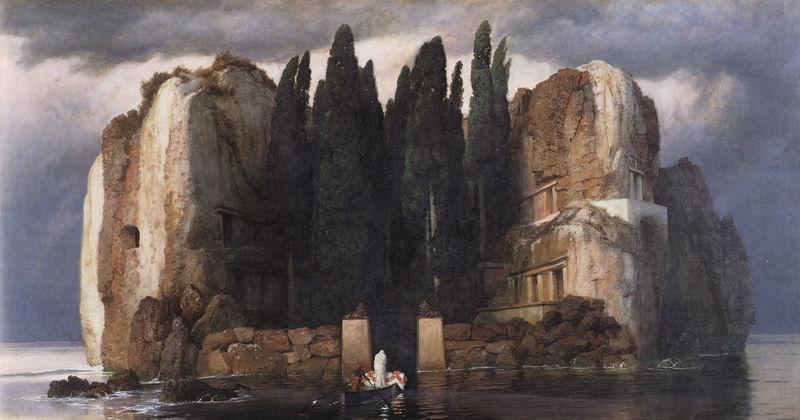 Arnold-Böcklin-Die-Toteninsel-V