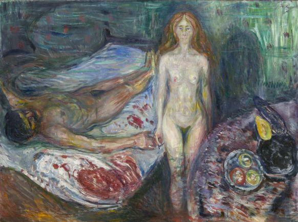 «Θάνατος του Μαρά», 1907, Μουσείο Munch, Όσλο.