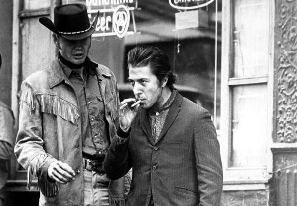 MIDNIGHT COWBOY, Jon Voight, Dustin Hoffman, 1969.