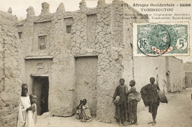 Timbuktu, Mali - House belonging to Lenz, Timbuktu Mali - the house owned and occupied by the Austrian explorer Lenz in 1880. Photo by: Mary Evans/Grenville Collins Postcard Collection/Everett Collection(10283814)