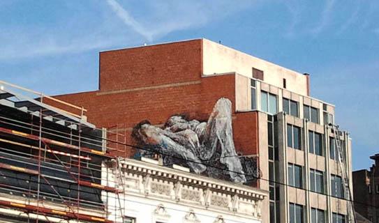 Γκράφιτι στις Βρυξέλλες
