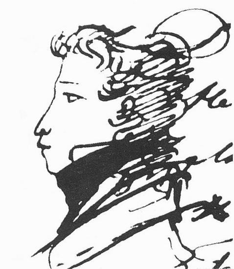 alexander-pushkin-selfportrait