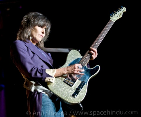 The Pretenders perform at The Malkin Bowl in Stanley Park, Vancouver, British Columbia, August 26, 2009 © Anil Sharma / Retna Ltd.