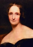 Mary Godwin Shelley, πορτραίτο από τα 1840 του Richard Rothwell, στη Royal Academy.
