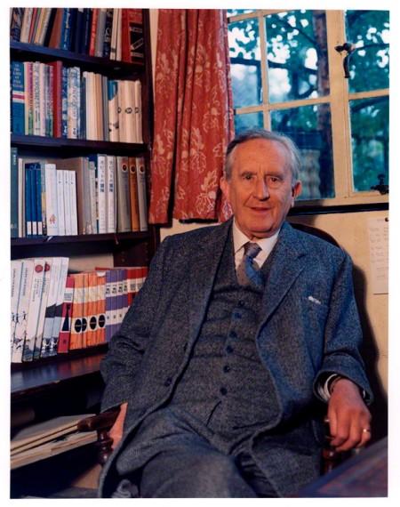 NPG x88898; John Ronald Reuel Tolkien by Pamela Chandler