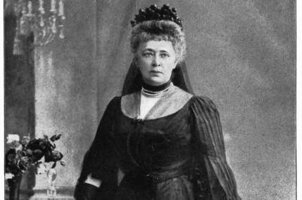 Βαρόνη Bertha von Suttner (πρώην Kinsky)