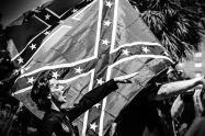 KKK on the steps on the South Carolina state capitol steps.