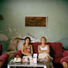 CUBA. Matanzas. 2016. Sisters Olga and Adelina Lim Hi, one of the few Korean descendants who do not have mixed heritage.Their grandfather was Im Cheon Taek, one of the leading figures of the earliest Korean community in Cuba.