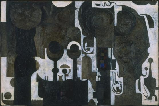 Ibrahim El-Salahi, «Το τζαμί» (1964)
