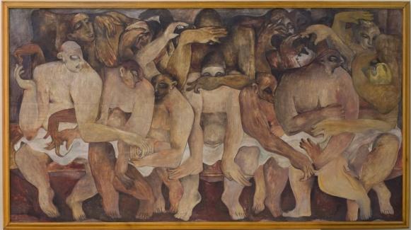 Rateb Seddik,Sans titre, 1940. Courtesy of Musee Rateb Seddik Le Caire.