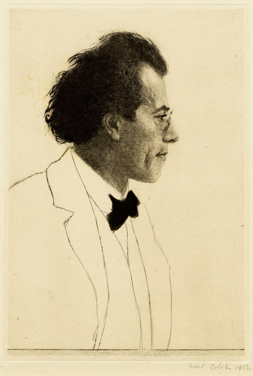 Emil_Orlik_Gustav_Mahler_1902