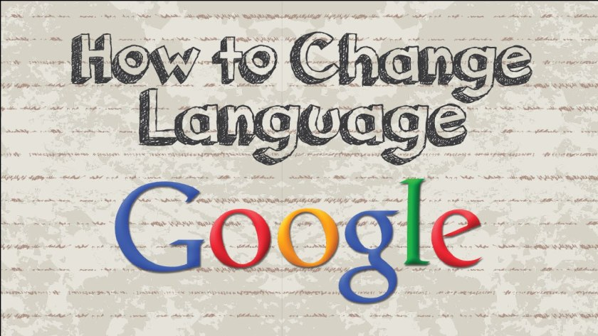 how to change language
