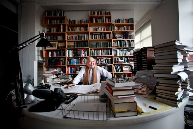 Bob Silvers edited The New York Review of Books