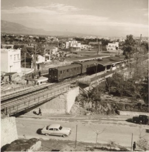 Ano Patisia Train Station 1956 FULL