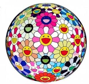 takashi-murakami-flower-ball-(3d)-pink