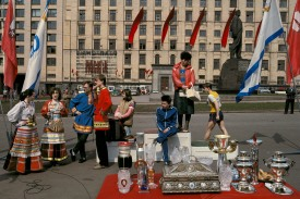 RUSSIA. Moscow. Sport manifestation. 1989.