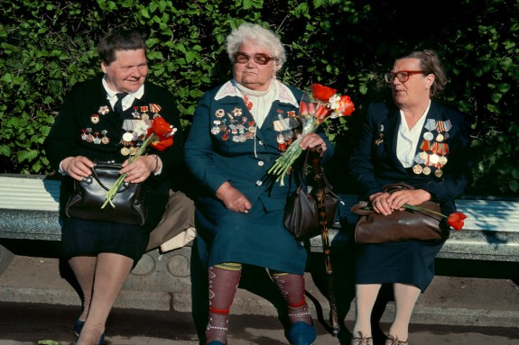 RUSSIA. Moscow. 1st of May celebrations. 1989.