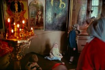 RUSSIA. Moscow. Orthodox church. 1989.