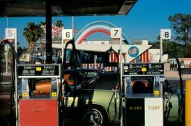 USA. California. On the road. 1982.