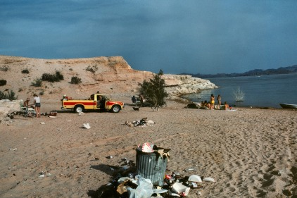 USA. Arizona. Lake Mead. 1982.