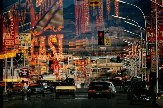 USA. Nevada. Las Vegas. Freemont Street. 1982.