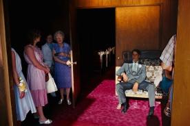 USA. Nevada. Las Vegas. A wedding chapel. 1982.