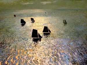 William Frederick Ritschel, Boats Returning Home
